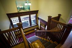 Craftsman stairs  windows