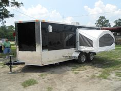 cargo trailer camper conversion | How to convert your Cargo trailer !! - Page 2 - TeamFlyingCircus ...