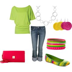 color combos, bright summer colors, spring colors, summer outfits, neon colors, closet, bold colors, spring outfits, bright colors