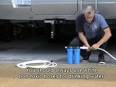 How To Install an RV Water Filtration System
