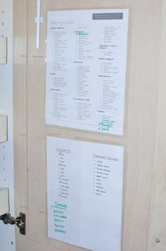 Preparing Your Pantry, Fridge and Freezer for Meal Planning