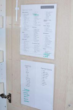 meal planning, fridg, pantries, prepared freezer meals, plan food