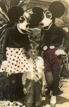 Vintage Mickey Mouse Costumes.