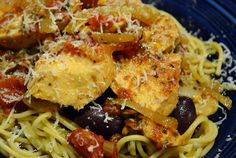 Slow Cooker Balsamic Chicken with Olives