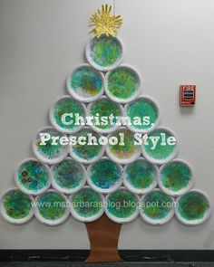 For the Children: Christmas, Preschool Style-  maybe make it out of 25 plates, and then write an activity, scripture, or other fun surprise on the back- use as an advent calendar!!!!! - Chelsea