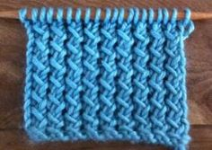 A new stitch a day...I need to get out the knitting needles!