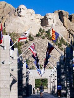 Mount Rushmore and other highlights of South Dakota's Black Hills and Badlands; so very worth the investment.  Put the kids on the helicopter and buzz the boys.