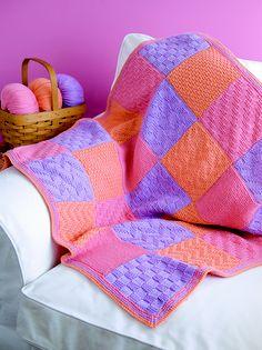 Patchwork Blanket by Sandi Prosser