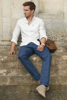 men styles, everyday wear, colored pants, skin care, lazy outfits, white shirts, stylish clothes, men fashion, men clothes