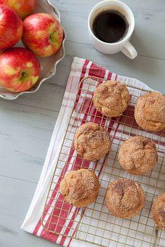 Cinnamon Sugar Apple Doughnut Muffins–Annie's Eats