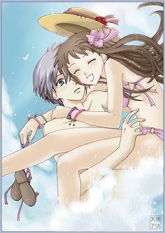 yuki and tohru~beach fun
