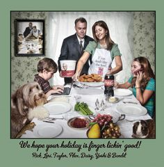 Amazing Creative Christmas Cards from the Bale Family