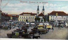 Timisoara - Piata Unirii - antebelica