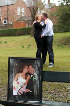 Brandy, I love this!  You should totally do it.  First anniversary pictures