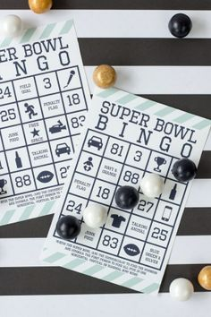 Super Bowl bingo is a super fun way to watch this year's Super Bowl!