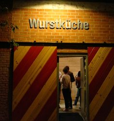 Wurstkuche! Exotic grilled sausages? Yes, please! Fancy beer menu? Duh.