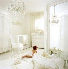 baby room chandelier baby-room yellow