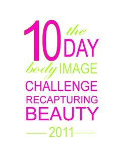10 days body image challenge