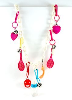 plastic Charm necklace. (you know, from the 80s!)
