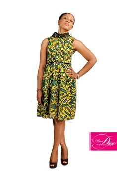 Design by Miss Dee Clothing, a Ghanaian Label.