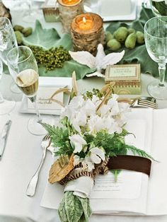 French Chateau Wedding via Habitually Chic.  #wedding #chateau #france