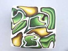 Polymer Clay Mirror Canes - YouTube - Meg Newberg