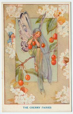 "Margaret Tarrant was known for her wonderful fairy images. Her series ""The Fairies in Our Garden"" was published in the 1930s by the Medici Society, Ltd., in London England."