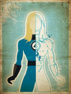 Brian Haas Explores Superheroine Secret Identities With New Prints [Art] - ComicsAlliance | Comic book culture, news, humor, commentary, and reviews