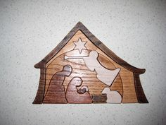 Christmas wooden crafts decorations on pinterest for Nativity cut out patterns wood