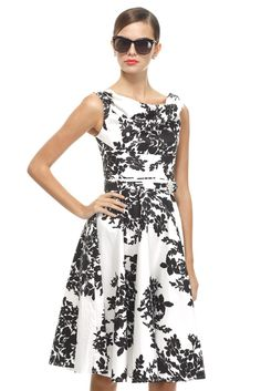 black and white dresses are the best