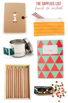 The Supplies List: Back to School (For You + Them!) #DIY #supply #school