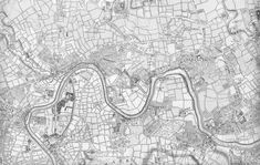 Rocque's Map of London, 1741-5. Click through to find higher resolution and clickable map!