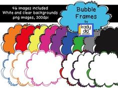 Bubble Frames {Kady Did Doodles}