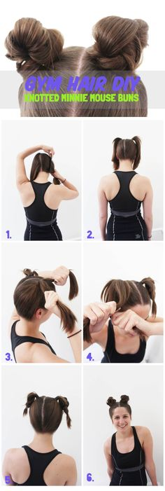 Gym Hair Tutorial Mi