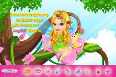 Fairylicious fantasies! ***  #Game's link: http://www.girlgames4u.com/fairytale-baby-_u_-tinkerbell-caring-game.html ✿ ✿ ✿