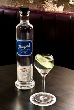 After Dark by Natasha David: 1 ½ oz Hangar 1 Straight Vodka 1 ½ oz Dolin Blanc Vermouth ½ oz Clear Creek Distillery Pear Eau de Vie 1 dash Absinthe  - Stir over ice and strain into coupe.