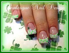 Polka-Patty by burlesquenails - Nail Art Gallery nailartgallery.nailsmag.com by Nails Magazine www.nailsmag.com #nailart