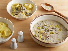 Mushroom Cream Sauce Recipe : Tyler Florence : Food Network - FoodNetwork.com
