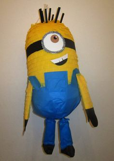 Moving Yellow Minion Despicable Me Custom Pinata by PinataMama, $85.00