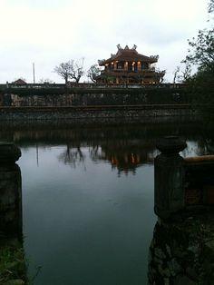 The citadel in Hue, Vietnam