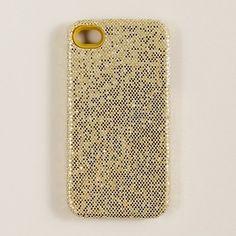 glitter iphone case from jcrew $25