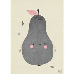 POSTER PEAR PAPPLE 50X70