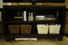 TV system storage