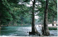 Guadelupe River in Gruene, Texas