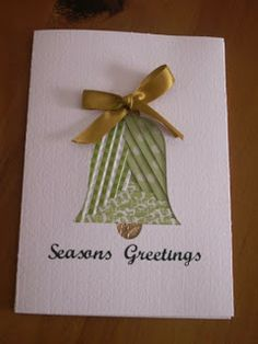 MerryMade Cards and Crafts: Christmas Cards - Iris Folding