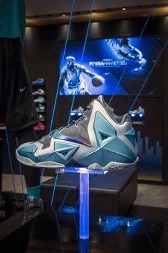 Nike Lebron XI Blue Gamma Retail Strategy