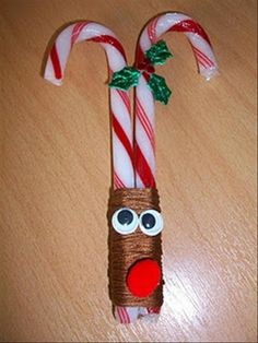 Easy DYI Christmas Craft What a cute and easy idea, There are plenty more on the blog!!