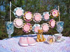 HomeMadeville: Baby Shower Banner Tutorial for the Craft Monkey ...