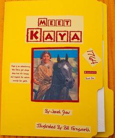 Kaya Lapbook Front