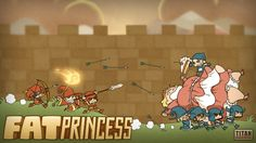 Fat Princess is a retro-sexist downloadable game for the PlayStation Network. A multiplayer game with the basic goal of rescuing the Princess. Players also pick up and carry cakes to feed the Princess, which makes her heavier and harder for the enemy to carry back to their own castle. #damselindistress #retrosexism #ironicsexism #fightovergirl
